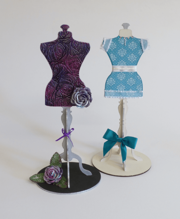 Mannequin Stands (Twin Pack)